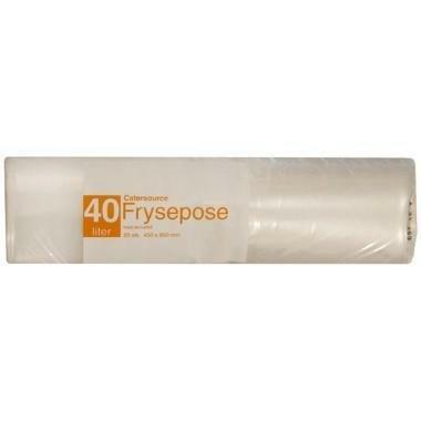 Frysepose 40 ltr  med skrivefelt