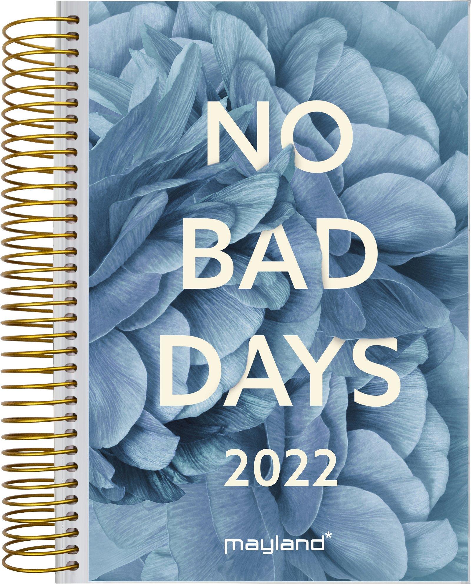 Mayland Spiralkalender 1-dag  m/4 illu. 2022