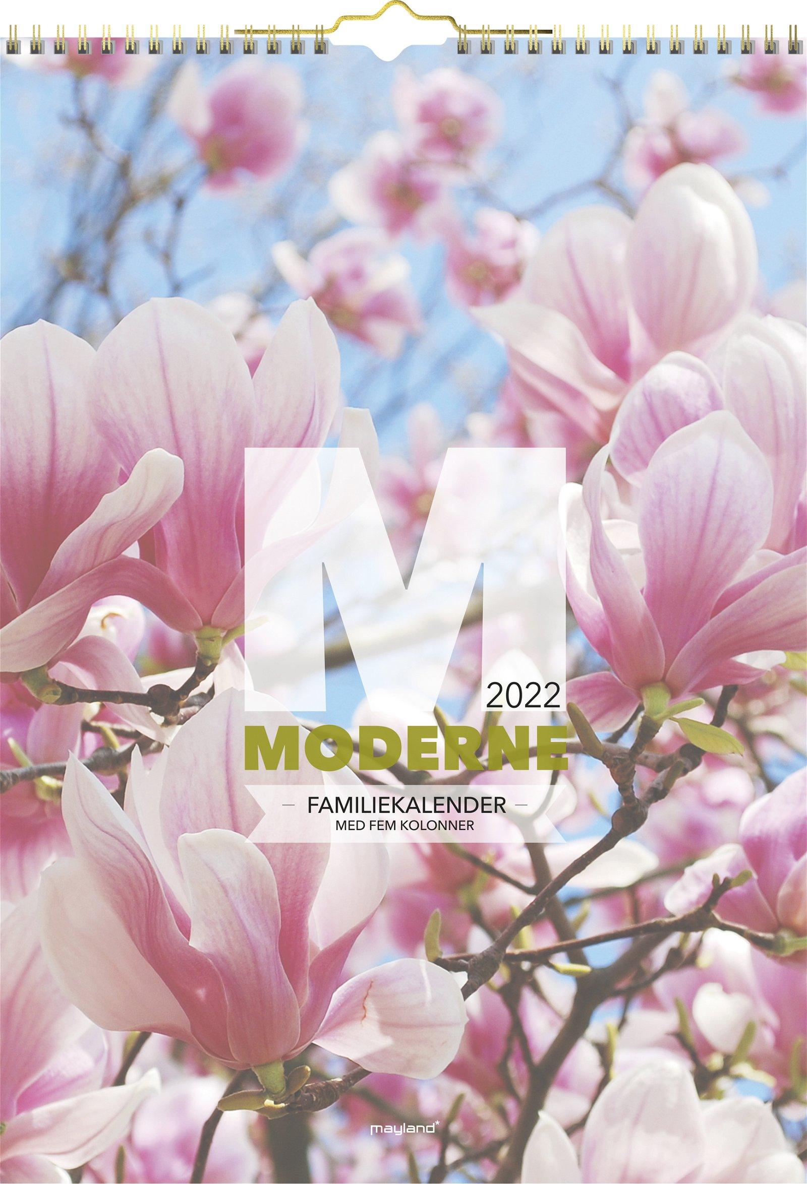 Mayland Familiekalender  Moderne 2022