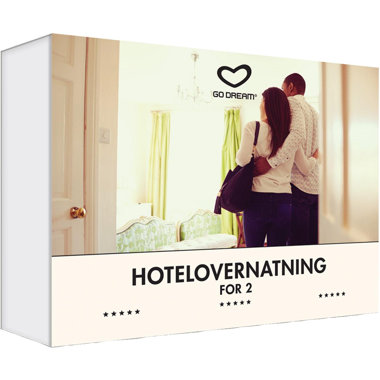 Go Dream 1 hotelovernatning for 2 - hele verden