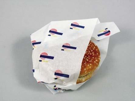 Burgerpapir 330x400mm PE-belagt