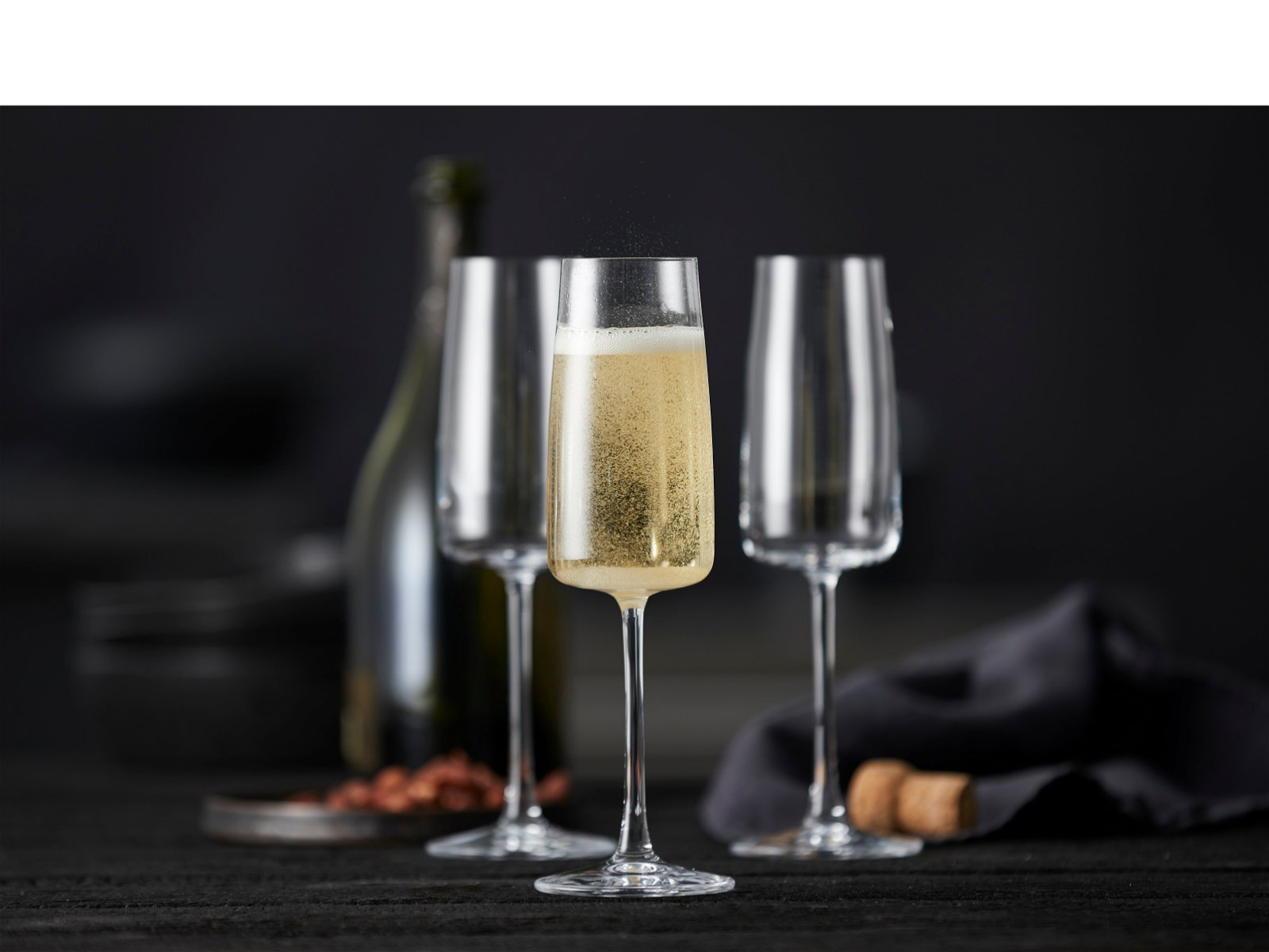 Lyngby Zero champagneglas