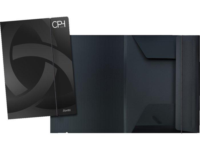 Bantex CPH A4 samlemappe PP med 3 klapper