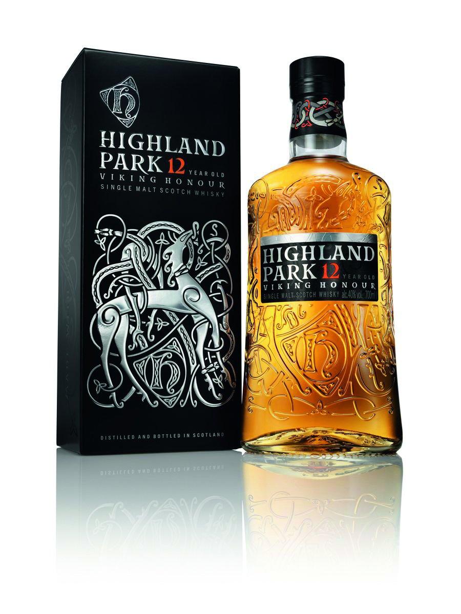 Highland Park Viking Honor whisky - 12 år