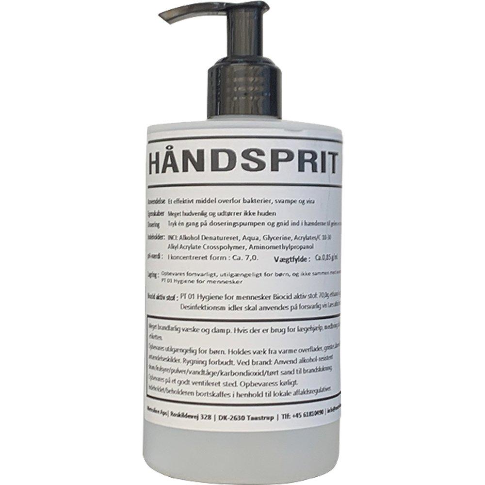 Håndsprit gel