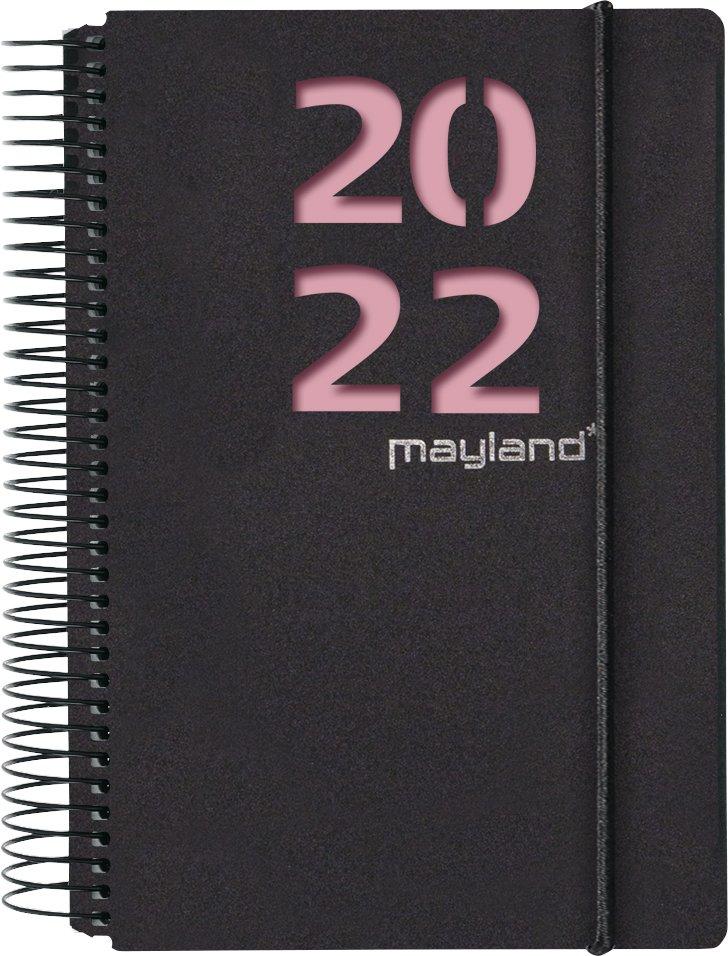 Mayland Spiralkalender 1-dag  m. 2 blade 2022