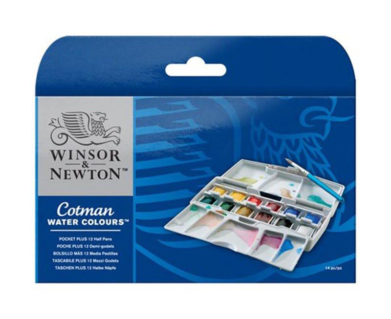 Cotman pocket box akvarel Plus