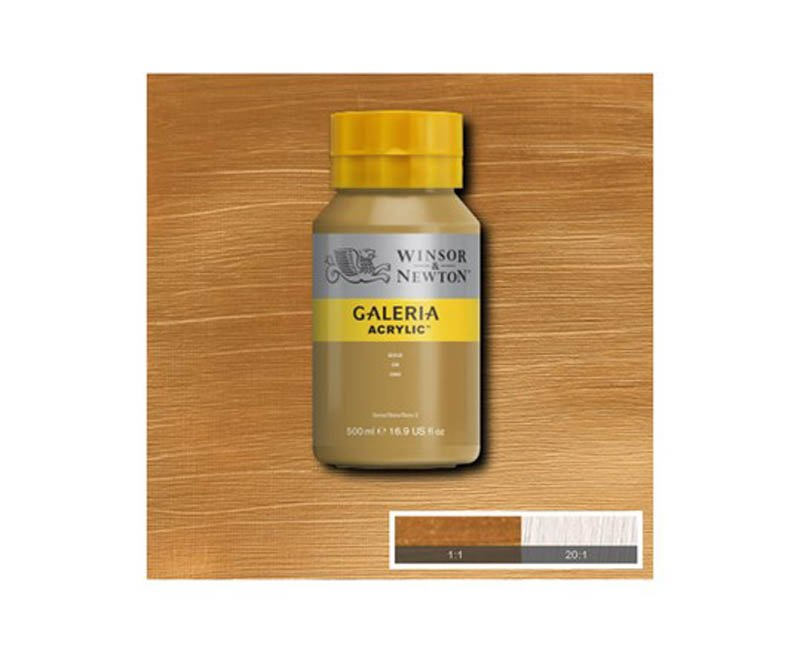 Galeria acryl 500 ml Gold