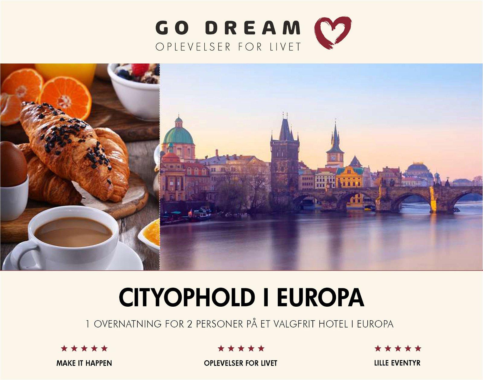 Go Dream Cityophold i Europa