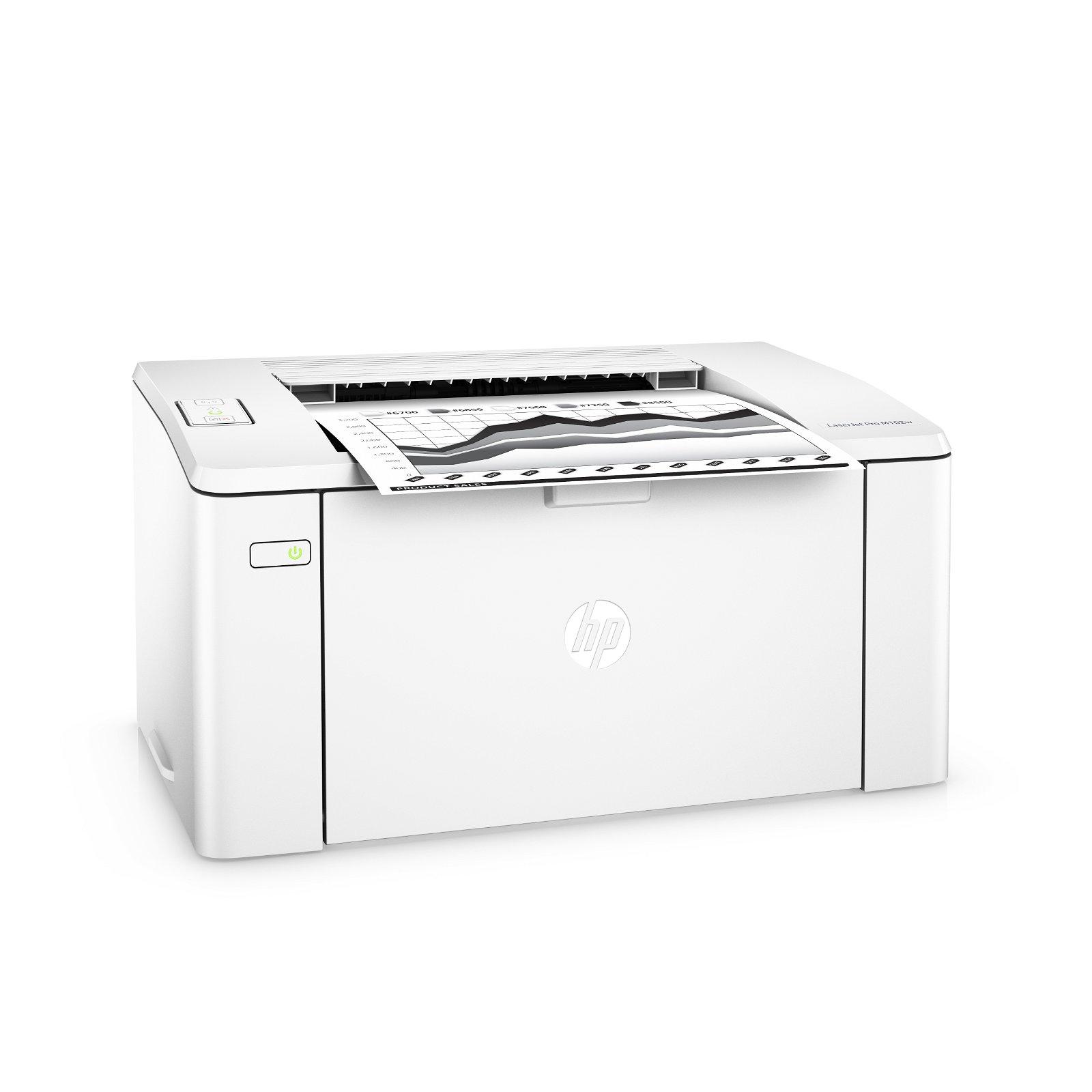 HP LaserJet Pro M102W laserprinter s/h, A4